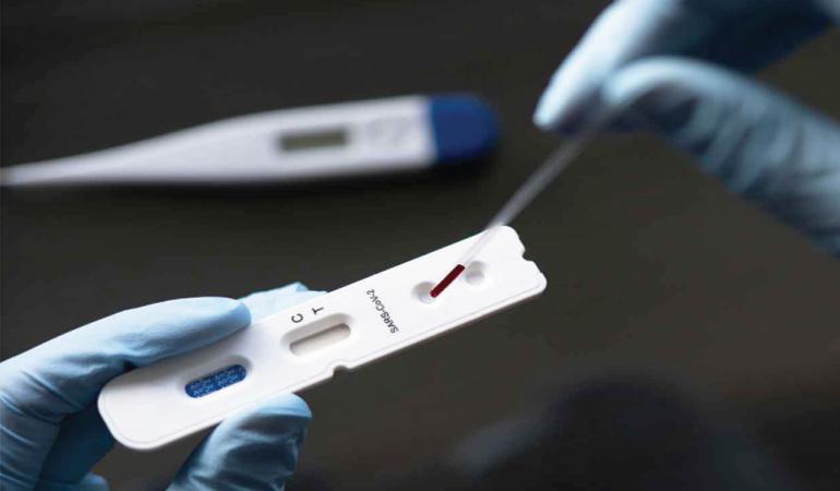 Test rápido de detección de anticuerpos covid -19