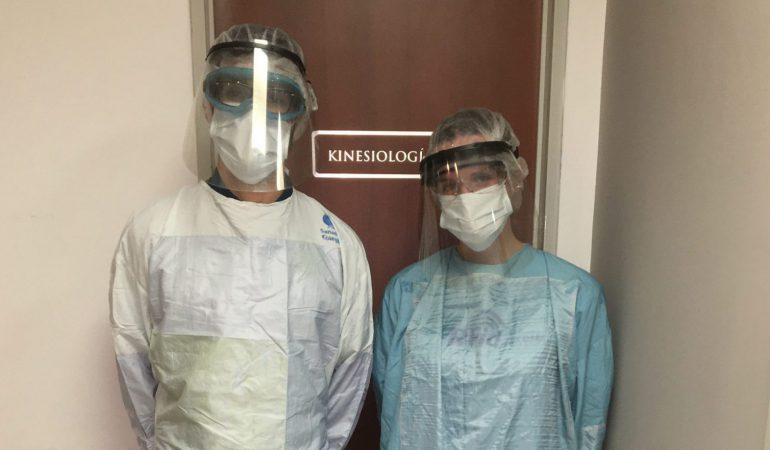 Mi equipo y yo: cómo trabajamos en épocas de Covid-19 en mi sector. Hoy, Kinesiología.